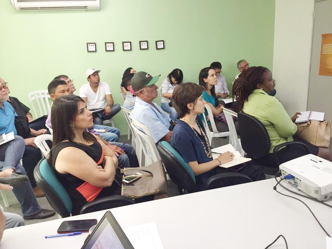 Idace recebe técnicos da Coordenadoria Agrária da Bahia