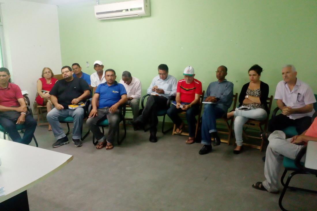 Reunião sobre Projeto Uruanan