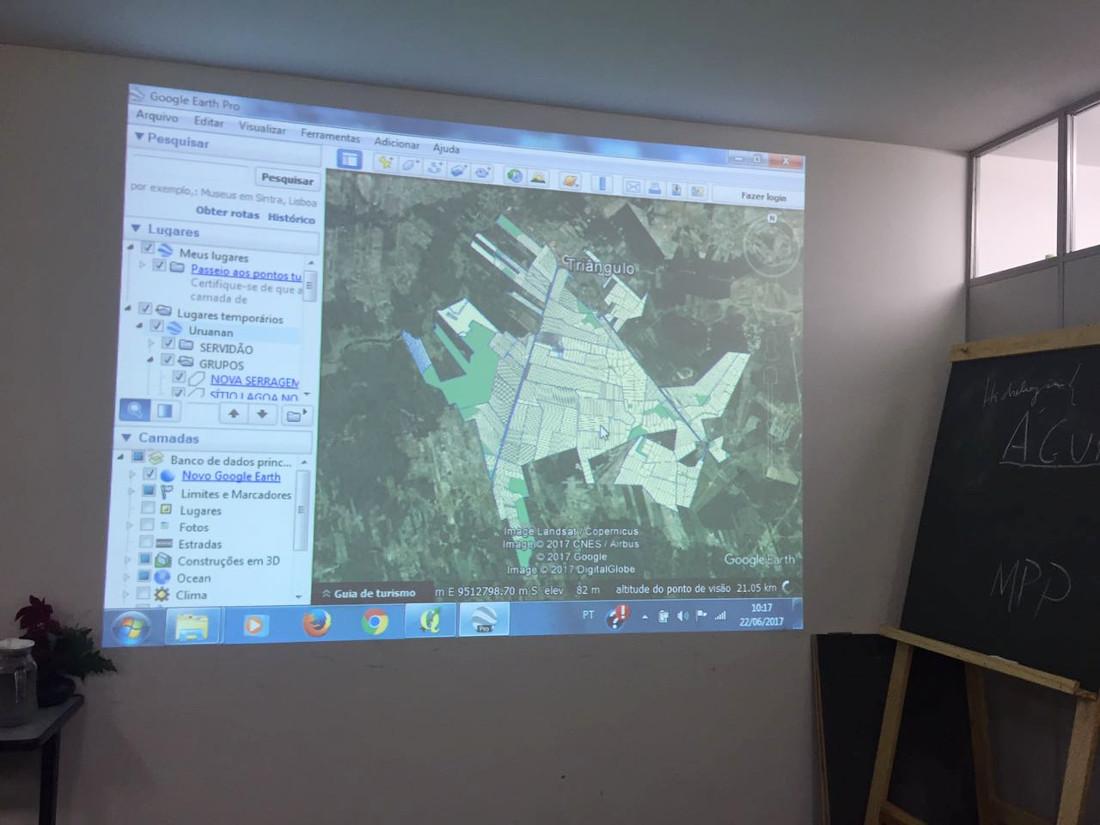 Idace faz reunião sobre andamento de implantação do Projeto Uruanan