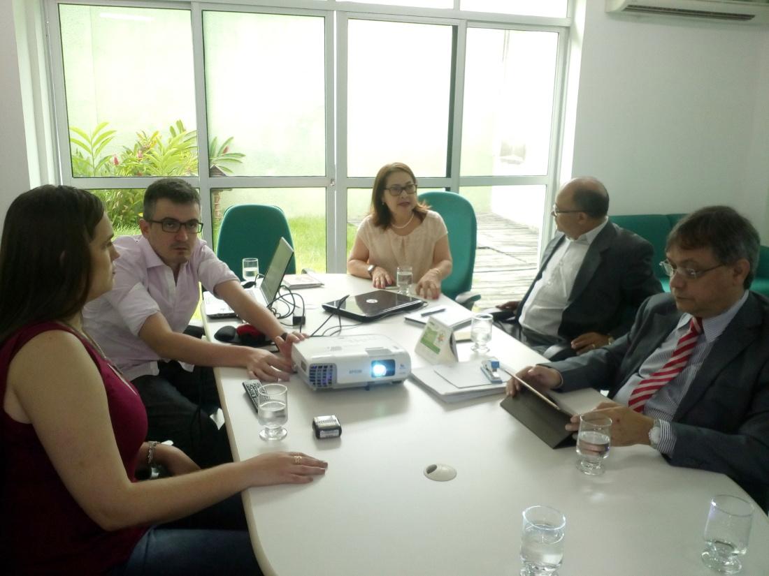 Técnicos do Instituto de Terras do Piauí visitam o Idace
