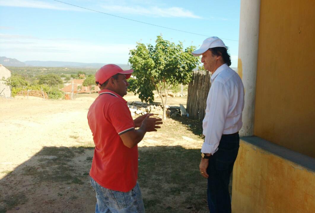 Cirilo visita Itarema e Potiretama