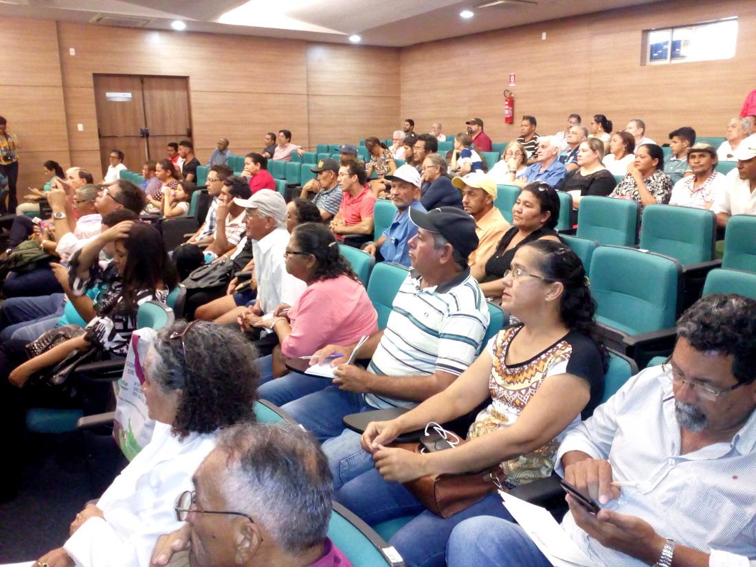 Assentados do Projeto Uruanan participam de treinamento
