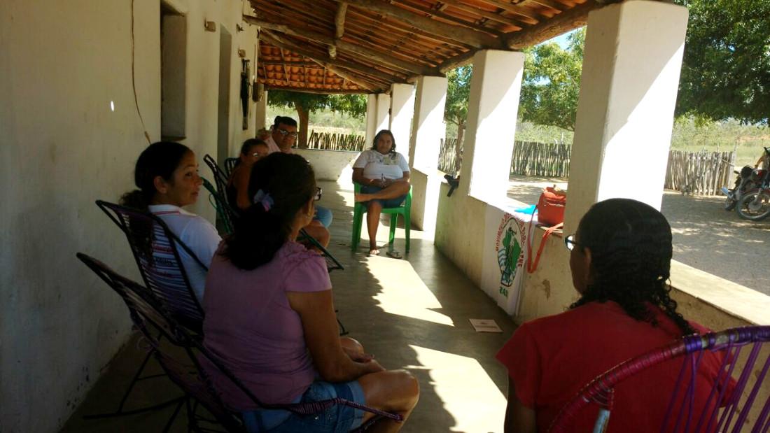 Idace realiza acompanhamento de Projeto Produtivo em Jaguaretama