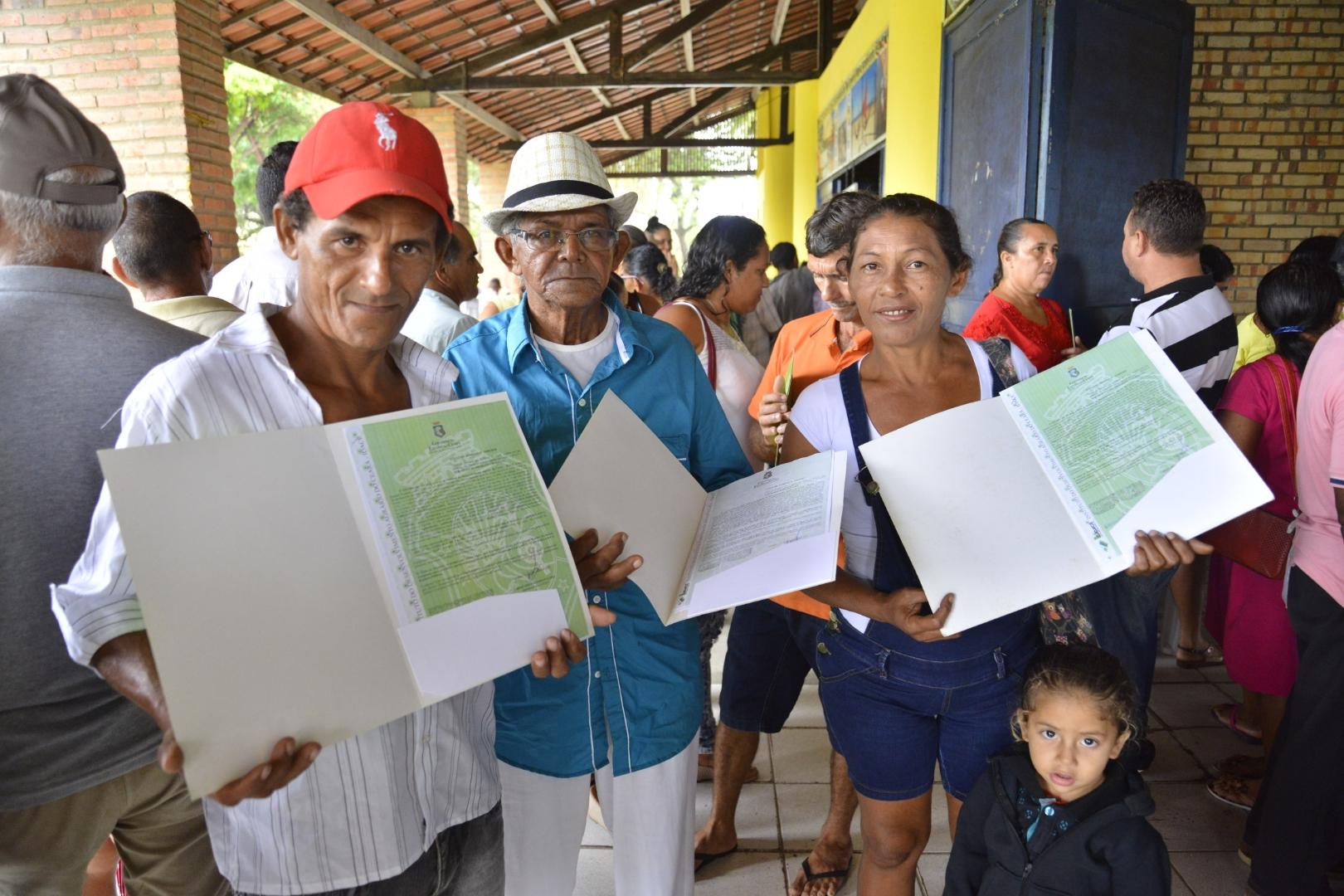 Programa de Regularização Fundiária beneficia 1.439 agricultores familiares do Trairi