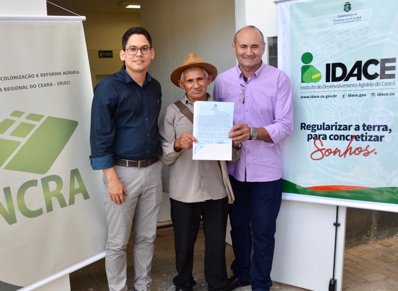 IDACE consegue prorrogar convênio com o INCRA até dezembro de 2021