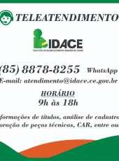 Número de cadastros de imóveis rurais analisado e aprovado pelo IDACE sobe para mais de 8 mil, em 33 municípios